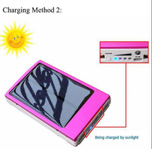 Hot selling solar power bank 15000mah, mobile phone case power bank charger, portable mini rechargeable power bank