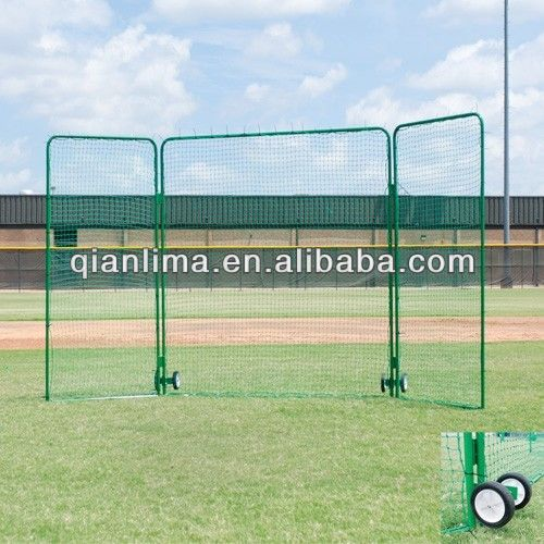 Varsity Tri Fold Protector Baseball Or Softball Batting Cage Screen