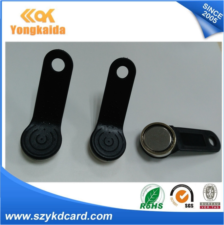 Drive IC Type Magnetic iButton Key Fob For Contact Patrol Monitoring
