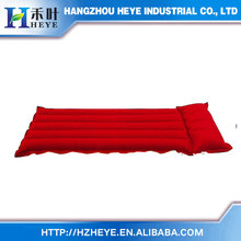 made in china SR001 Single Size 5 tube Inflatable Air Bed Rubber Cotton