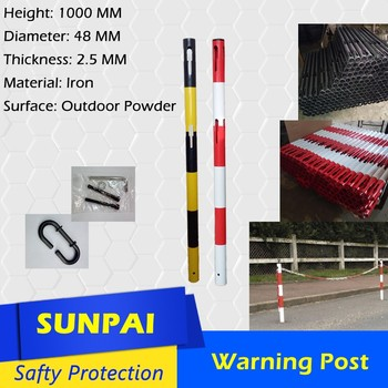 Sunpai silver security retractable stanchions