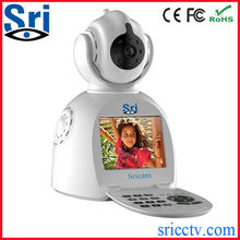 Sricam SP003 Newest Design Two Way Audio Wireless P2P Motion Activated Security Recordable Camera