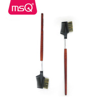 MSQ eyebrow and eyelash brush comb