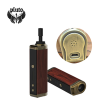 pluto technology wooden vaporizer pen dry herb wax vapor
