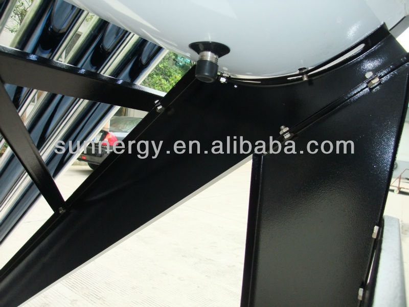 Solar wood pellet fired water heater
