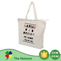 Excellent Quality Sublimated Advertising Cotton Boat Tote Bag