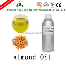 factory direct sale edible almond oil in essential oil almond carrier oil