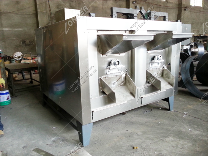 Factory Sale Peanut Roaster Hazelnut Barley Cacao Tea Almond Pistachio Roasting Machine