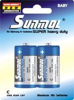 China super dry battery cell