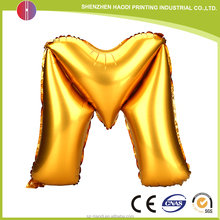 Factory direct quality assurance cheap letter foil balloon