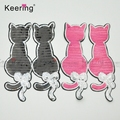 Fancy Animal Cat Sequin Patches Embroidery Designs