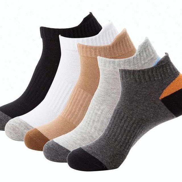Eco-Friendly Sports Men Socks Knitting Crew Ankle Fuzzy Socks New Design Mens Socks
