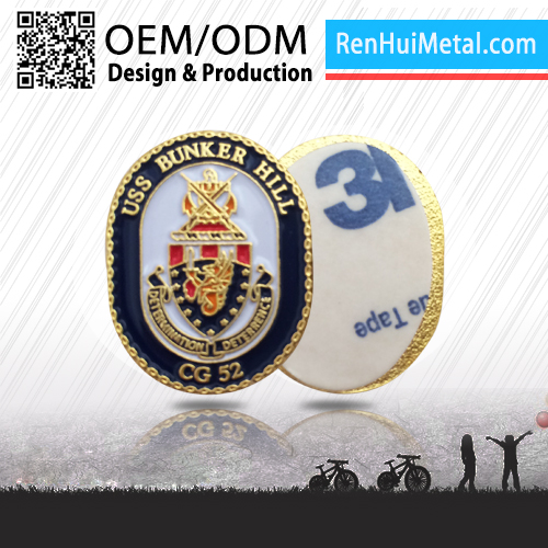 2016 China Modern custom metal collar insignia lapel pins