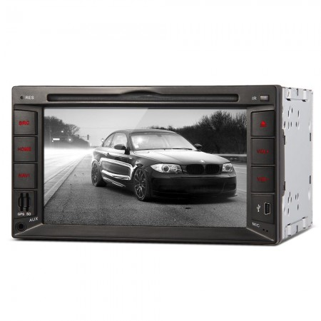 "Standard 6.2"" Car DVD Player In-Dash 2-DIN Touchscreen GPS Navigation Europe Model 1"