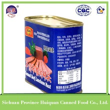 gold supplier china canned beef luncheon meat ready to eat food