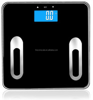 Bluetooth body weighing scale which can analyze human body comppositon and send data to APP on Android and IOS device