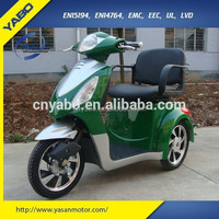 china 2015 electric tricycle 500w 48v 20ah three wheel electric mobility scooter motorcycle handicapped for adult