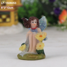 chinese figurines flower fairy in resin crafts
