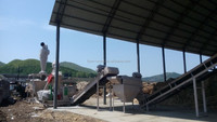 Complete wood pellet production line/wood pellet plant