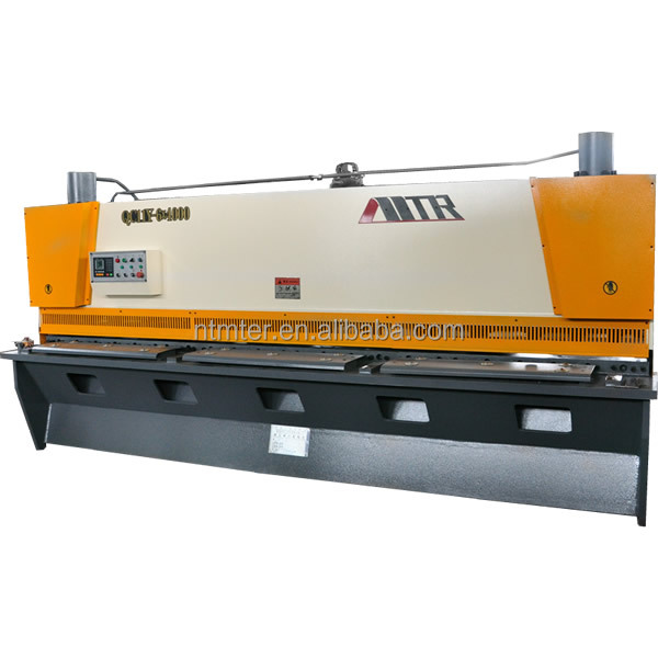 heavy duty cnc hydraulic metal sheet plate shearing machine price