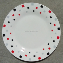 "10.5."" pretty ceramic porcelain dinner plates and dishes"