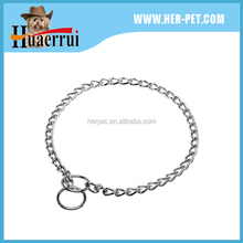 2016 factory produce high standard low price chain dog collar