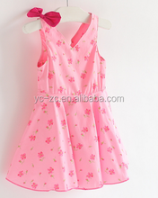 New fashion flower girl dress baby girl party dresses in bangalore hawail dresses