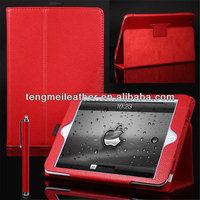 Red Smart Cover PU Leather Magnetic Stand Folio Case For iPad Mini,Projector Case For ipad mini