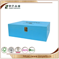FSC high quality customized gift decoration wholesale wooden wine box