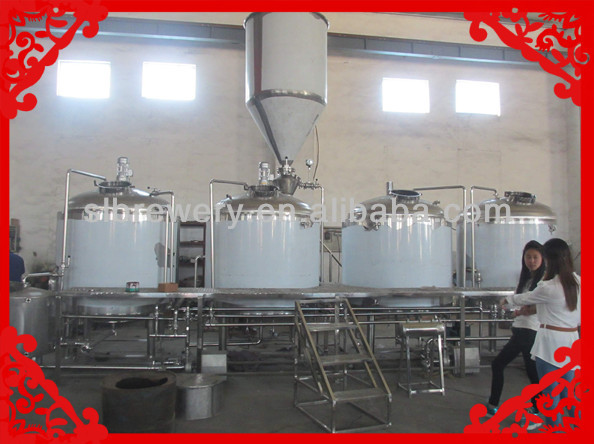 1000l micro beer making machine for investment project
