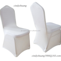 Wholesale Cheap White Spandex Elastic Hotel