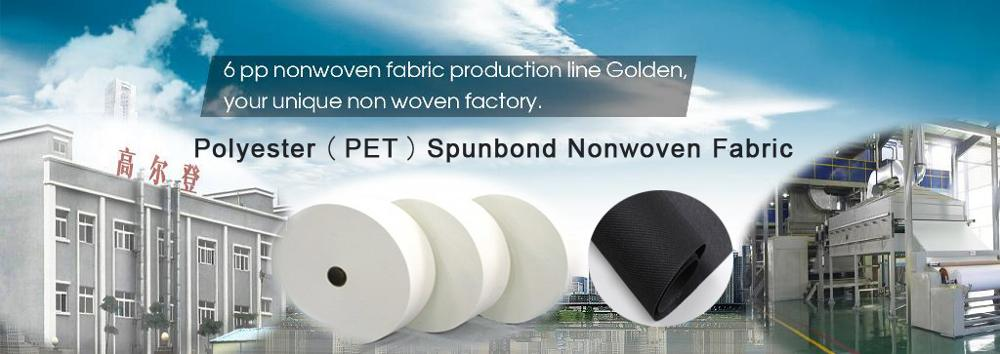 Recycled polyester spunbond nonwoven fabric/PET non woven fabric