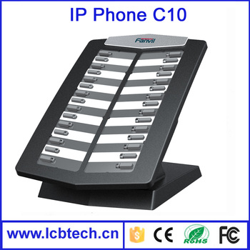 Factory price C10 Extension consoles for ip phone , sip voip phone, cheap sip phone