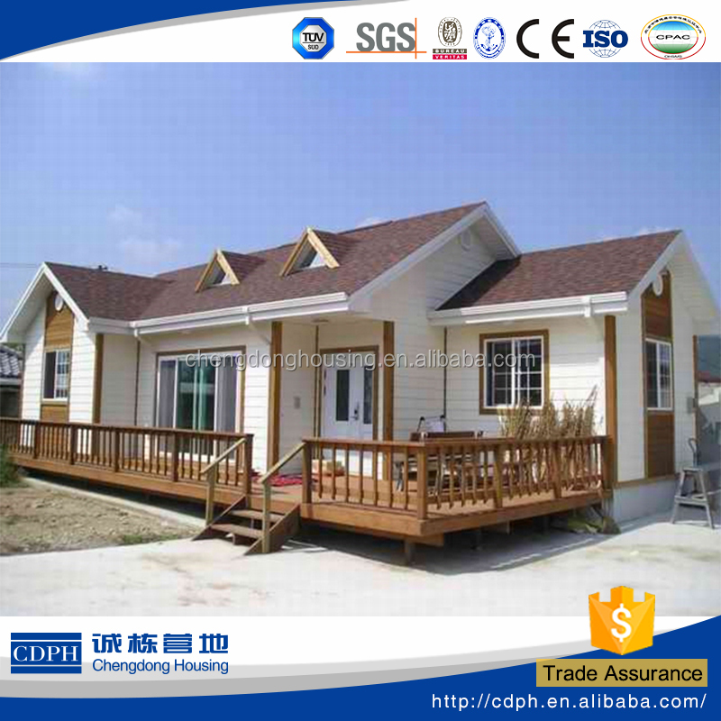 china CDPH luxury modern design prefab steel villa house for living