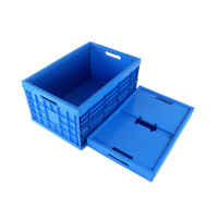 EverMaster Vendor High Quality Foldable Plastic Turnover Box for Electronics