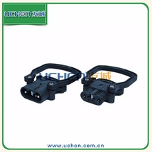 UCHEN male and female 80/ 160a/320A 600V DC 4-pin battery connector