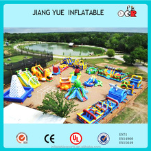 Inflatable Amusement Park,Playground Inflatable Fun City In Flatable - Buy Playground Set