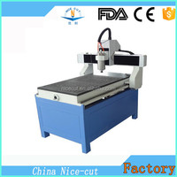 NC-B6090 mini cnc router carving aluminum composite panel cutting machine