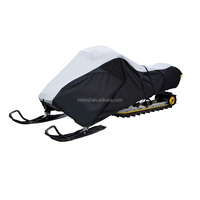 universal fit snowmobile covers, water-resistant snowmobile stoage covers,