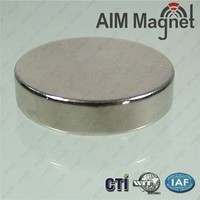 Disc Shape and Permanent Type Neodymium Cylinder High Power Magnets