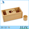 Wooden Educational Montessori Teaching Materials EN71 Toddlers Toy in China One Shape Sorting Box