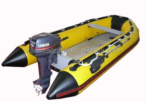 CE certified 2017 hot selling pvc/hypalon/orca inflatable boat with aluminum/air mat/plywood/slat floor