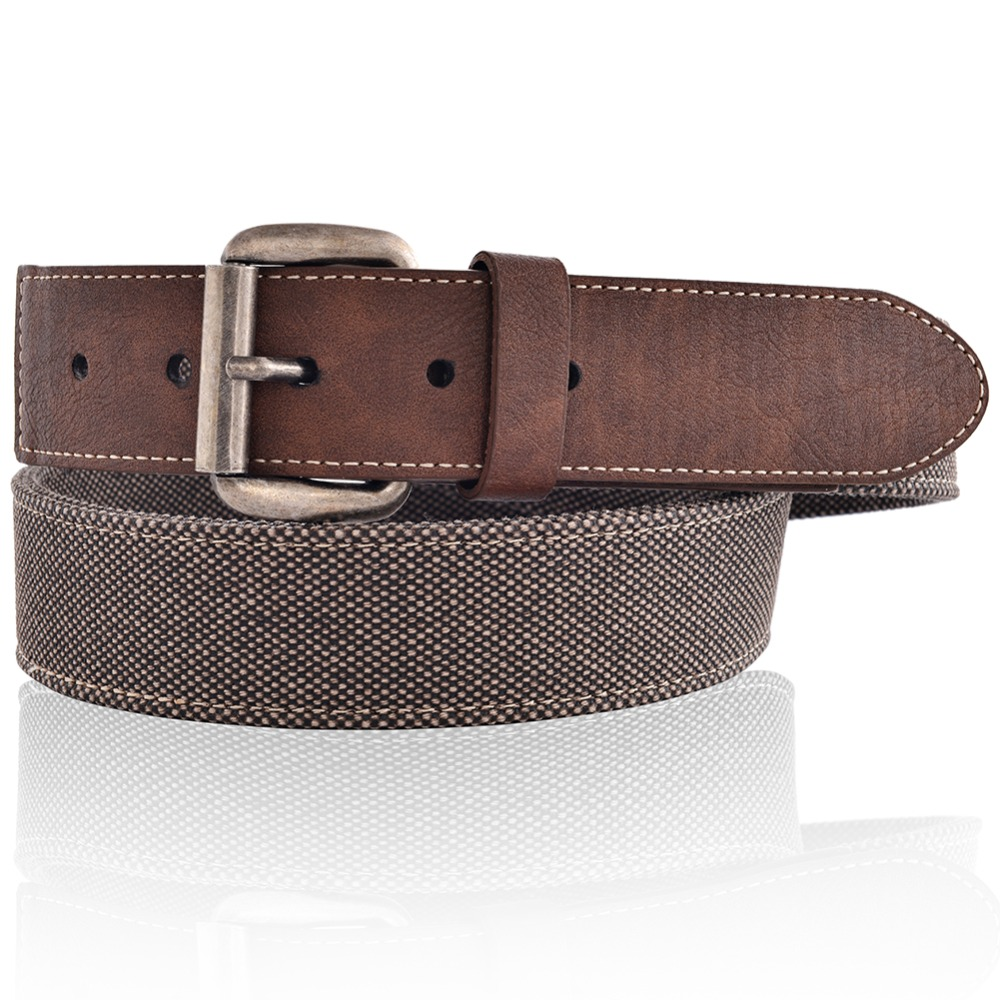 Mens Fashion Jeans Canvas Belt