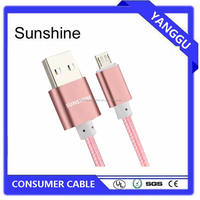 micro usb male to female 5 5S 5C 6 6S 6 Plus CE cable