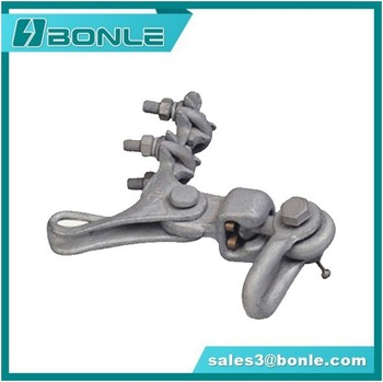 High Quality Pole Line Hardware Terminal end Clamp