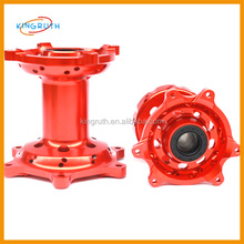 Chinese colorful CRF motorcycle CNC oxidized Wheel Hub set