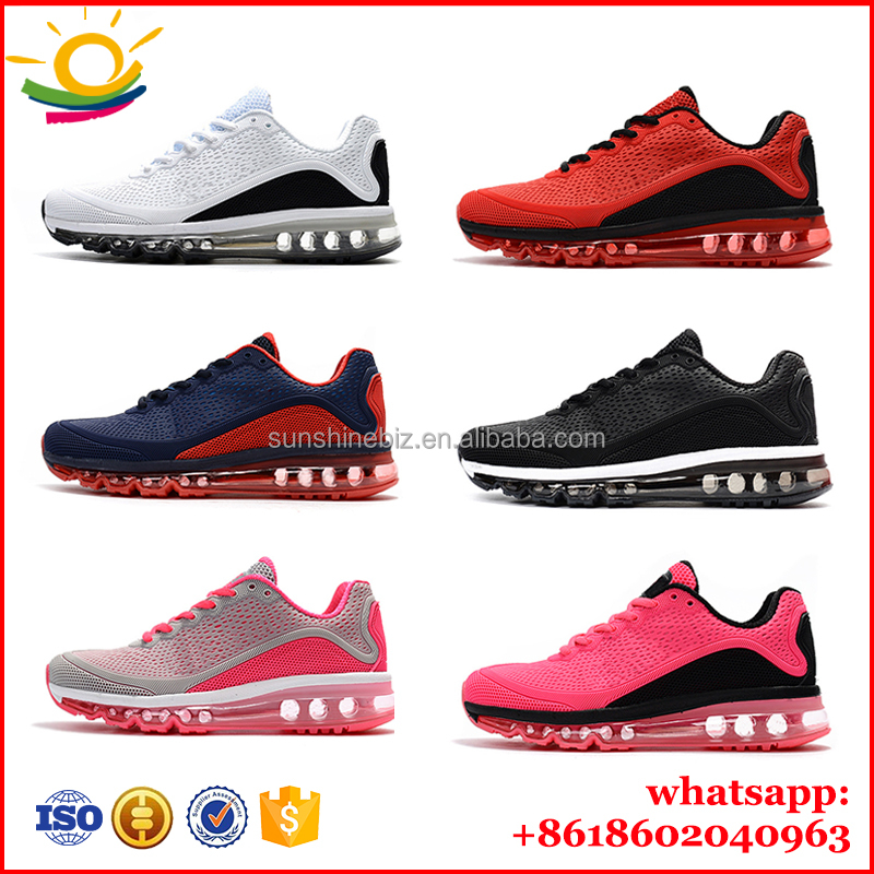 Brand Air cushion sole shoes Men sport shoes Sneakers women and men running shoes