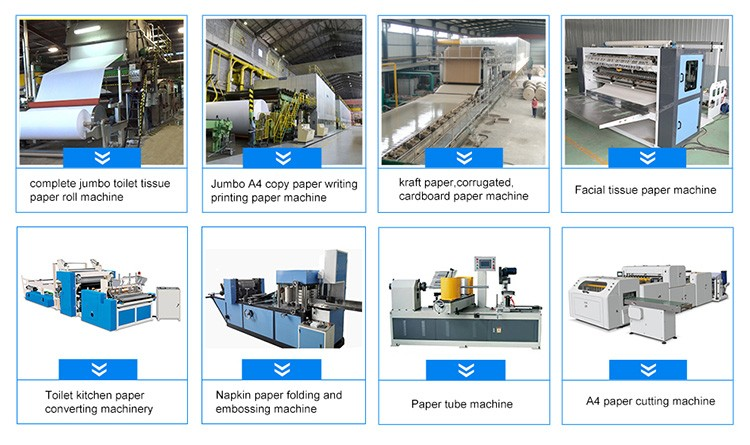 Paper Pulp Production Line with Truster For Kraft Paper Machine