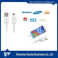Colorful sync data micro usb cable for samsung