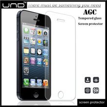 Hot sale 9h HD high clear tempered glass screen protector for iphone 5 5s 5c OEM/ODM